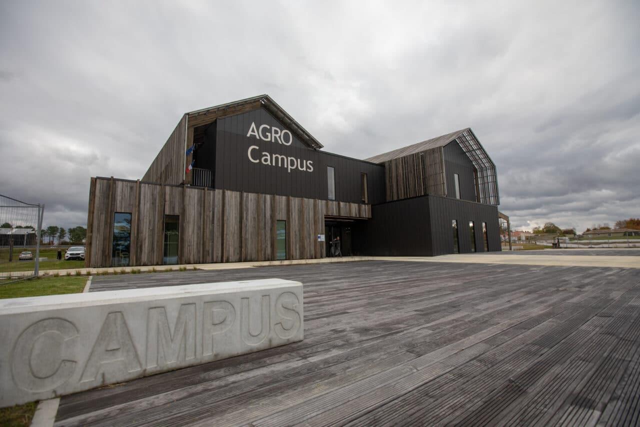 Inauguration Agrocampus Haut Mauco 2019©sebastien Zambon Dpt4018 Novembre 2019 22